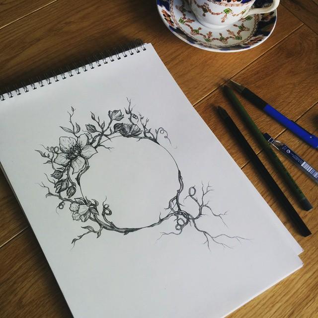 organic & symmetrical combo
